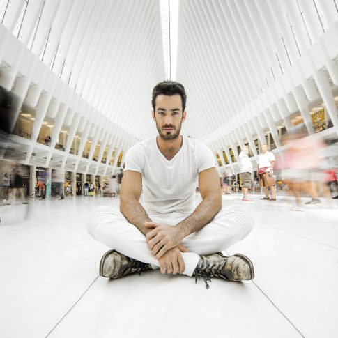 angelo trani ritratto portrait aaron diaz oculus new york motion blur