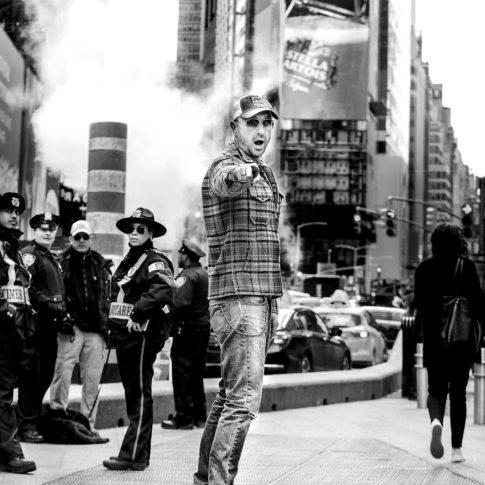 angelo trani ritratto portrait joe bastianich new york times square skateboard police