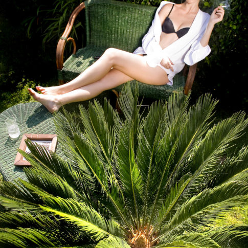 angelo trani ritratto portrait petra khrutz attrice modella
